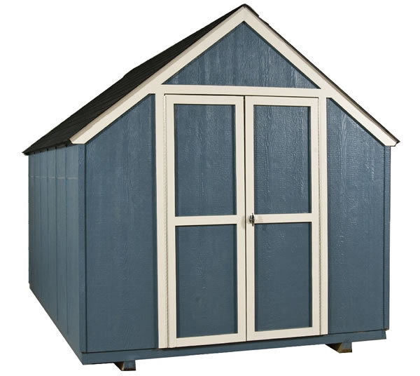 Handy Home Marco 8x12 Gable Shed Kit w/ Floor