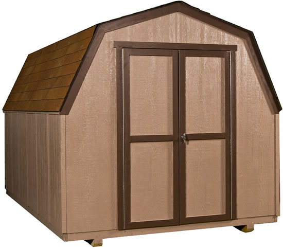 Handy Home Marco 8x12 Gambrel Shed Kit w/ Floor