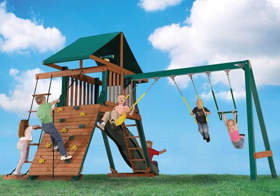 Heartland Captains Loft Swing Set