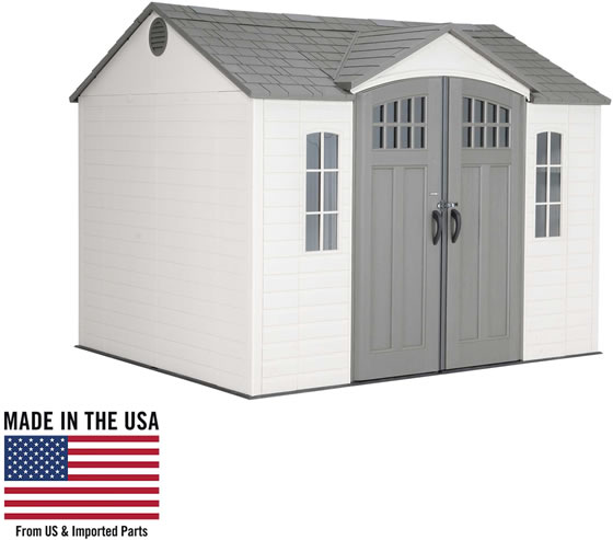Lifetime 10x8 Shed 60333 - Made In The USA