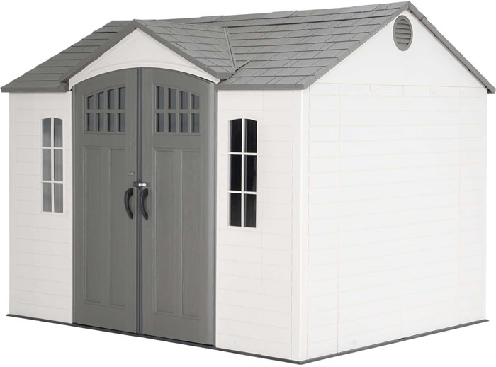 Lifetime 10x8 Outdoor Storage Shed Kit w/ Floor