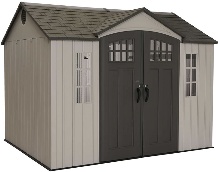 Lifetime 10x8 Side Entry Shed w/ Vertical Siding
