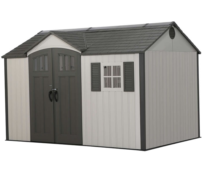 Lifetime 12x8 Side Entry Storage Shed w/ Floor