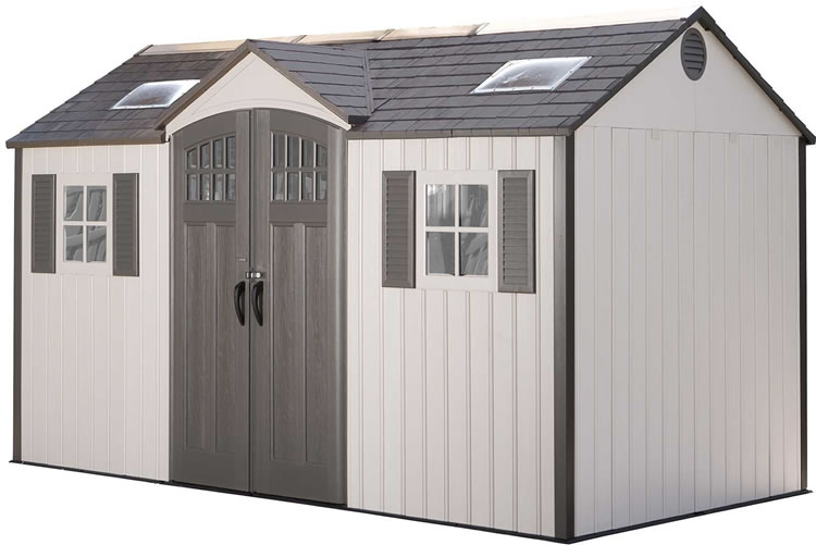 Lifetime 15x8 New Style Storage Shed Kit w/ Floor