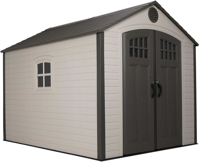Lifetime 8x10 Storage Shed Kit w/ Corner Trims