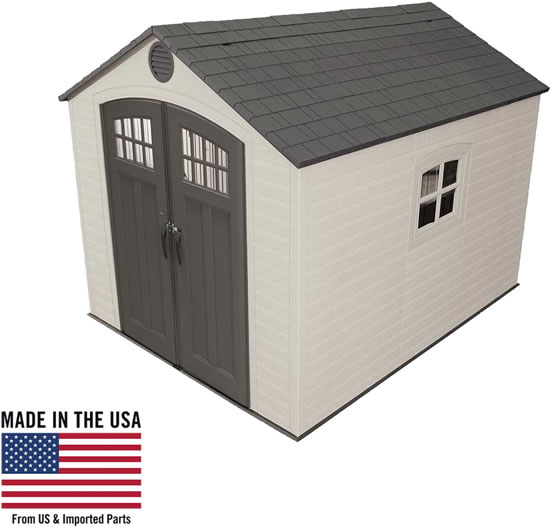 Lifetime 8x10 Shed 60241 Made In USA