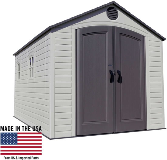 Lifetime 8x15 Shed 60075 Made In USA