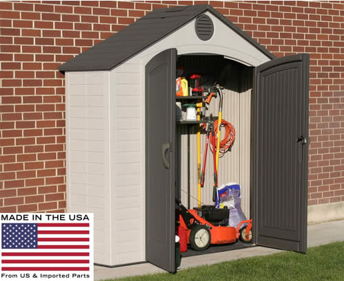Lifetime 8 x 2.5 Storage Shed Made In The USA