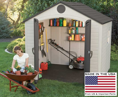 Lifetime 8x5 Shed 6406 Made In USA