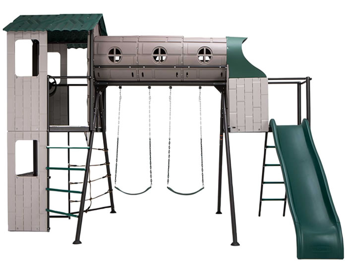 Playground & Playsets - Lifetime Multi Color & Earthtone