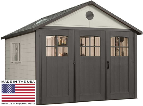 Lifetime 11x11 Garage 60187 Made In The USA