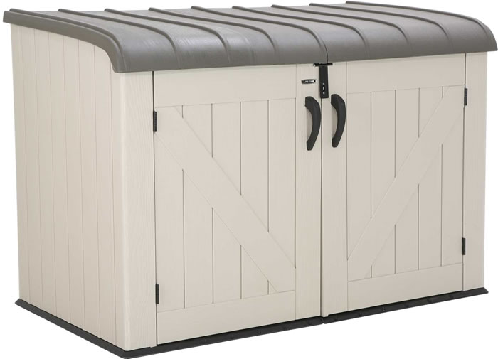Lifetime 6x3 Horizontal Storage Box / Shed Kit
