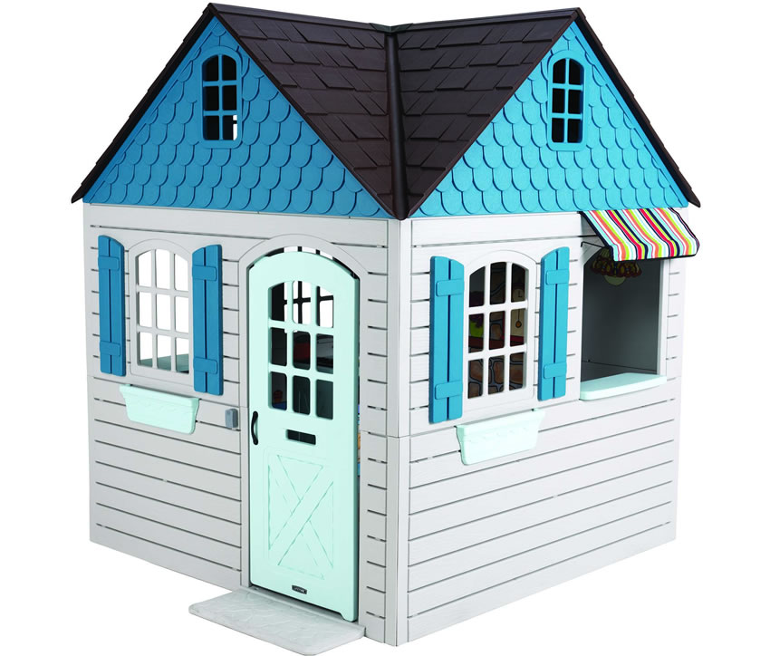 Lifetime 6x6 Adventure Plastic Playhouse Playset Kit