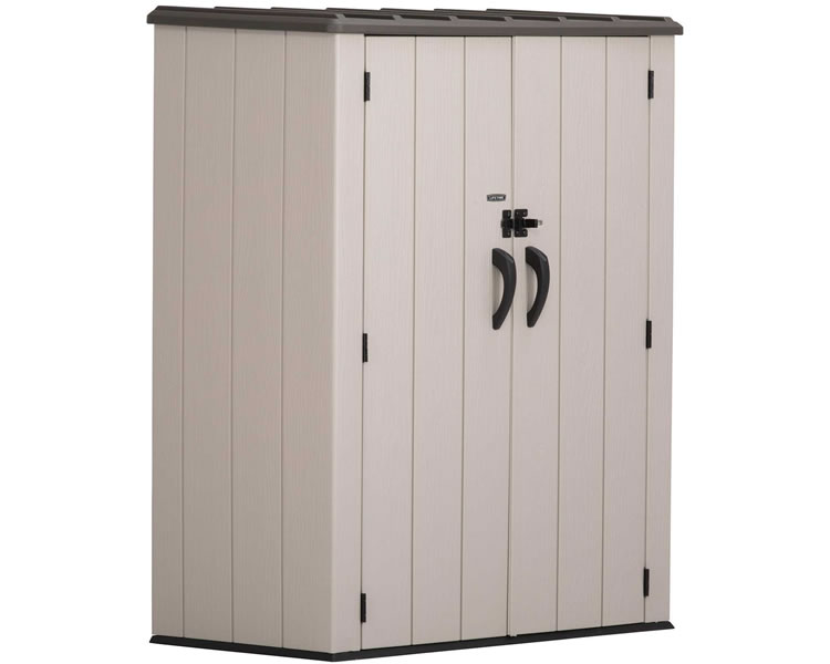 Lifetime Vertical Storage Shed Kit w/ Floor