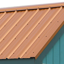 Optional Metal Roof Panels Available For Purchase