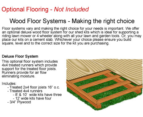Optional Wood Flooring