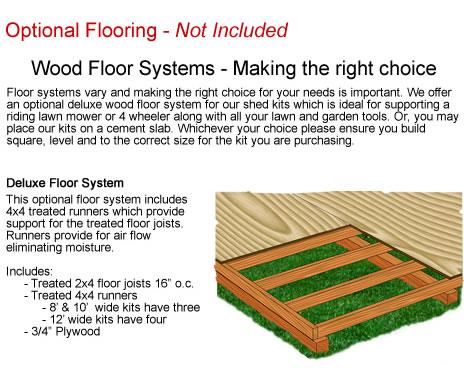 Optional Wood Flooring