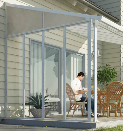 Use Our Sidewall Kit To Enclose Your Existing Feria Patio Cover!