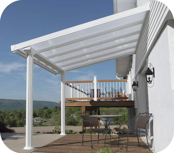 Palram 10x10 Gala Patio Cover Kit - White