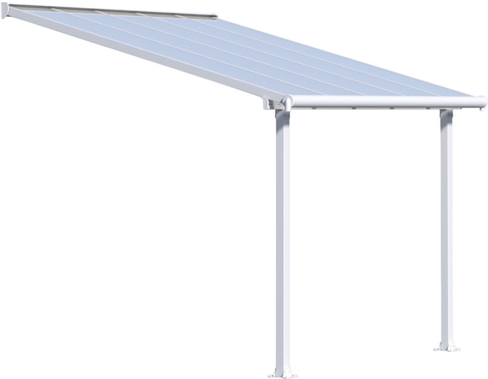 Palram 10x10 Olympia Patio Cover Kit - White