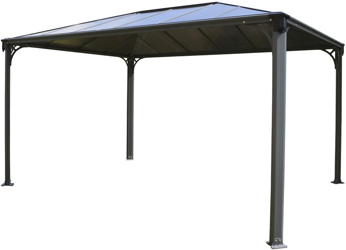 Palram 10x14 Martinique Rectangle Garden Gazebo Kit