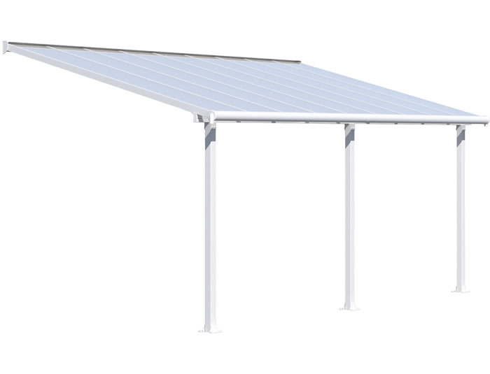 Palram 10x18 Olympia Patio Cover Kit - White