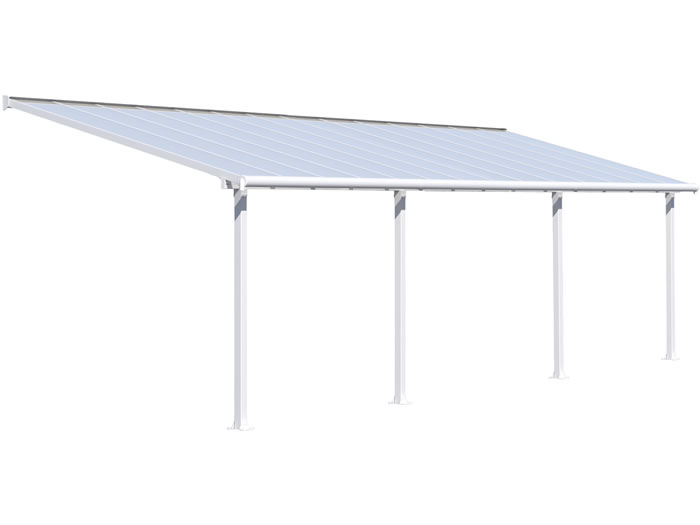Palram 10x28 Olympia Patio Cover Kit - White