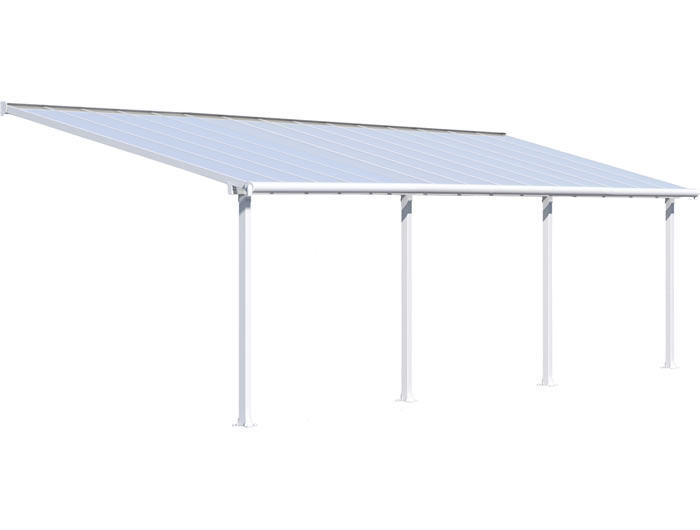 Palram 10x30 Olympia Patio Cover Kit - White