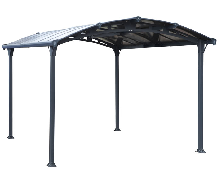 Palram 12x14 Arcadia 4300 Metal Carport Kit