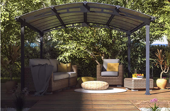 Palram 12x14 Arcadia - Use As Gazebo Or Patio Cover!