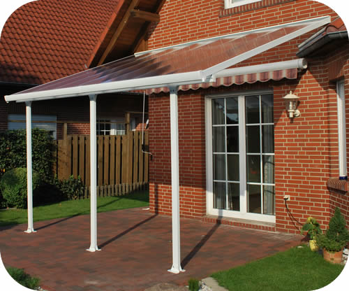 Palram 13x14 Feria Patio Cover Kit   White