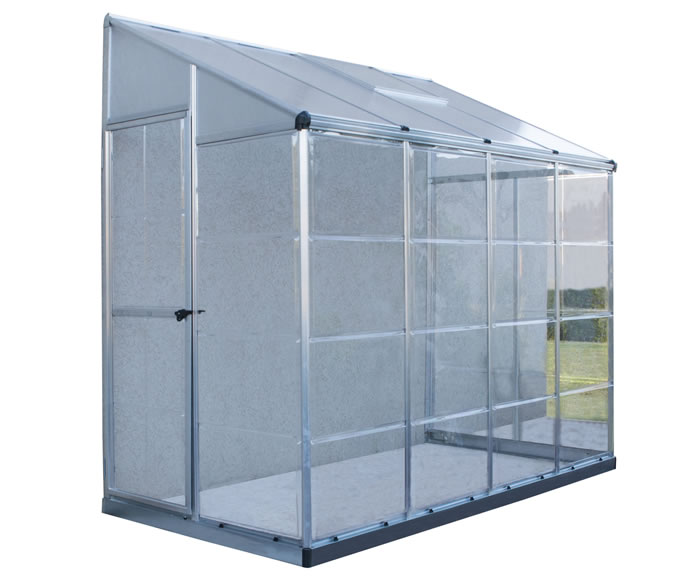 Palram 4x8 Hybrid Lean-To Greenhouse Kit