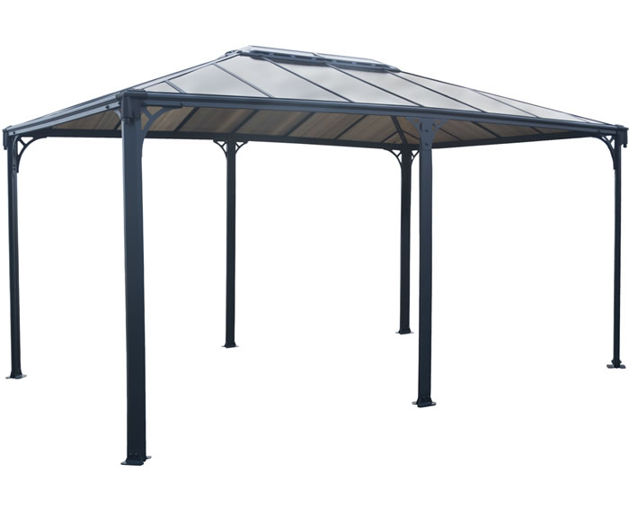 Palram Martinique 12x16 Garden Gazebo Kit