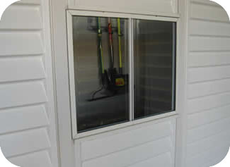 DuraMax WoodBridge Storage Sheds Window Kit