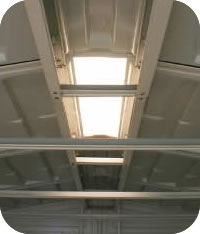 DuraMax Storage Sheds Skylight