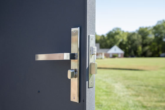 Sojag 8x5 Denali Shed Locking Door Handle w/ Key and Deadbolt