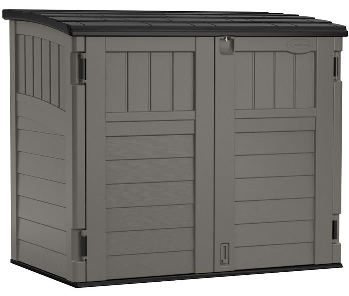 Suncast 4x3 Horizontal Storage Shed Kit w/ Floor