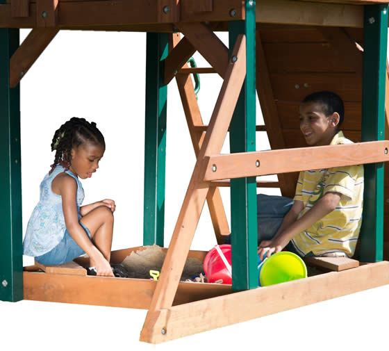 Find More Adventures Under the Clubhouse in Your Own Sandbox!