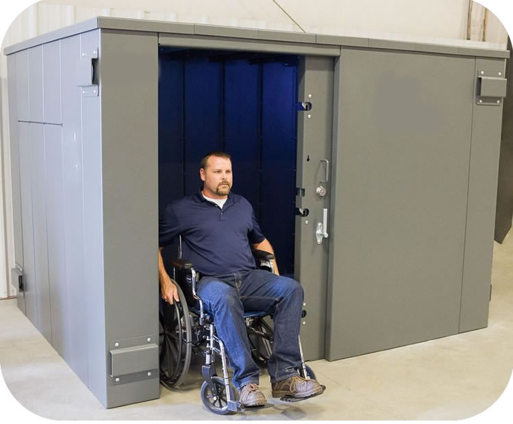 Swisher ESP 20 Person Tornado Shelter w/ Wheelchair Access