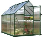 Palram 6x8 Mythos Hobby Greenhouse Kit - Green