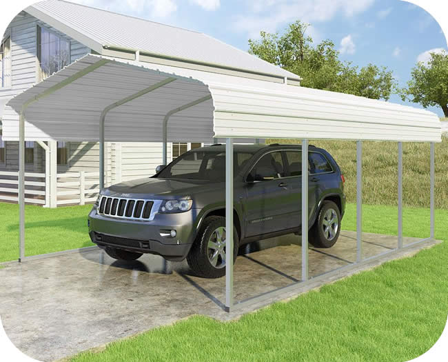 VersaTube 12x20x7 Classic Steel Carport Kit