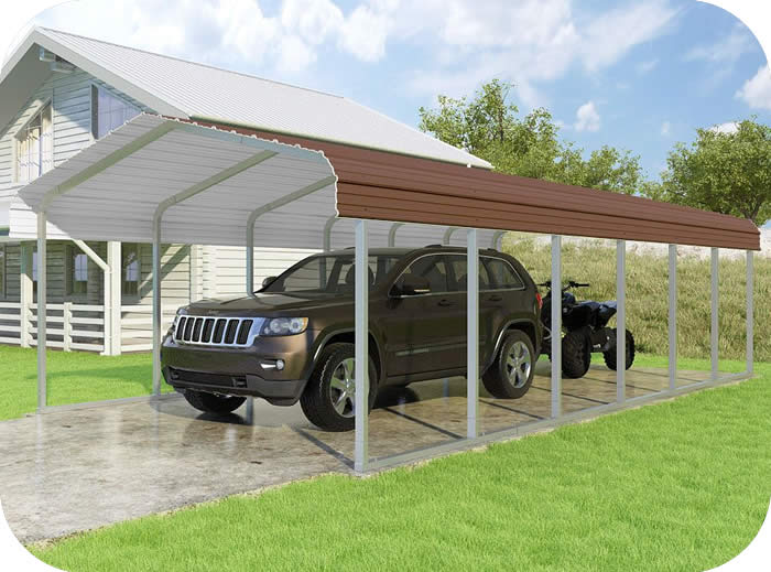 VersaTube 14x29x7 Classic Steel Carport Kit