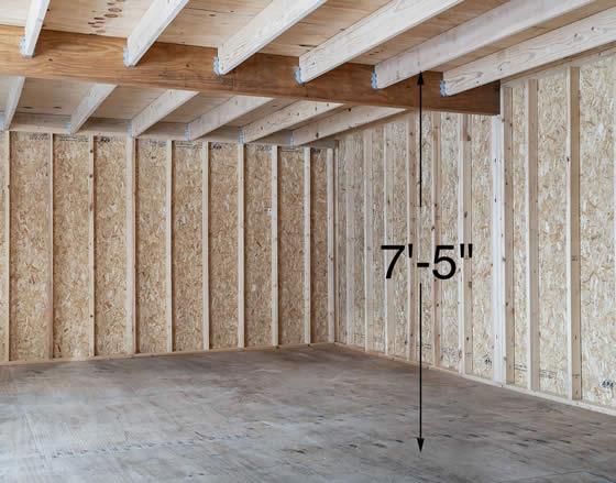 Virginia Garage has 7.5ft of headroom