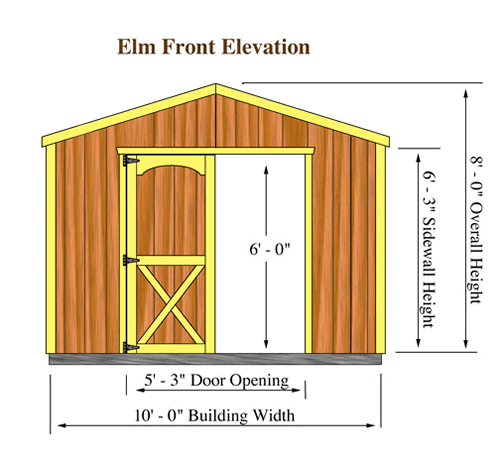 Standard storage shed sizes, storage shed plans free 8x10