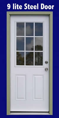 Roanoke Shed Optional Single Side Door