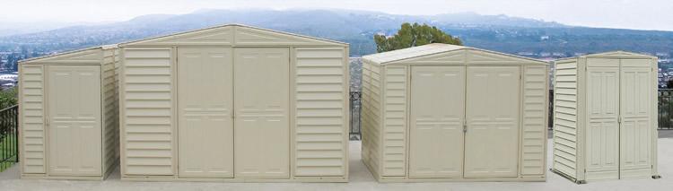 Garden Sheds Vinyl duramax sheds - vinyl storage shed kits