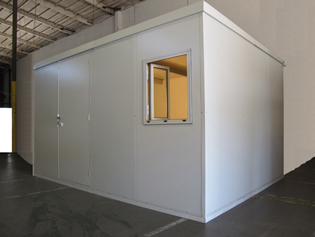Great for outdoor or indoor warehouse offices!