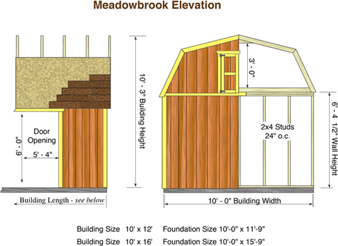 Wood Storage Shed with Loft
