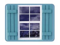 Storage Shed Kit Window